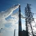 写真: 4月2日(月)の煙突
