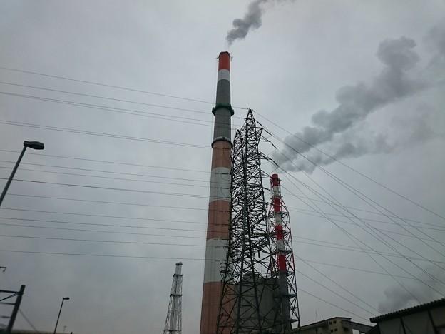 写真: 4月25日(水)の煙突