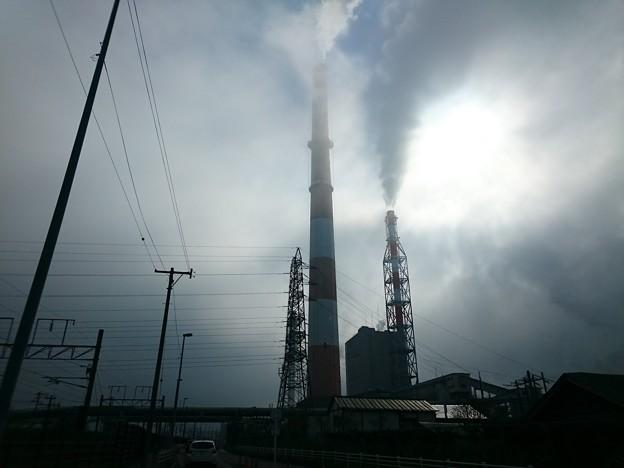 写真: 5月14日(月)の煙突
