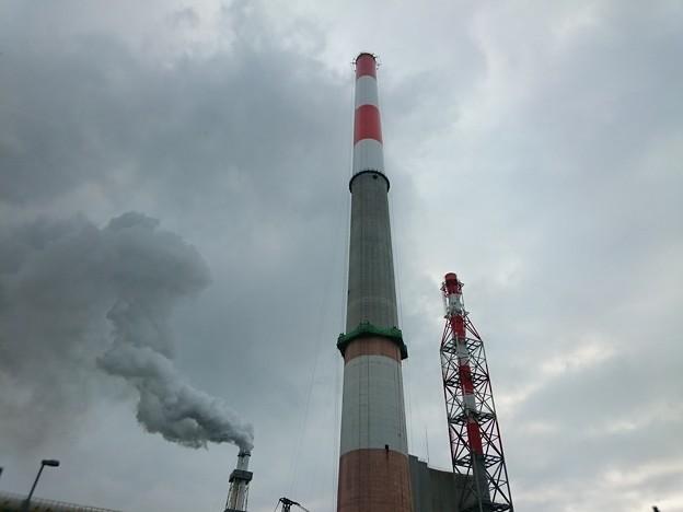 写真: 7月18日(水)の煙突