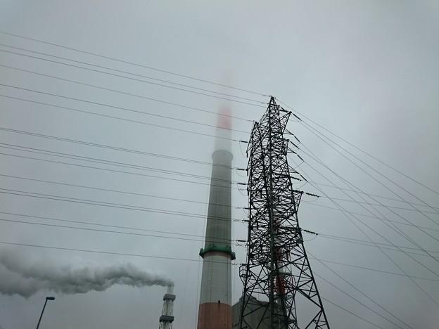 写真: 7月19日(木)の煙突