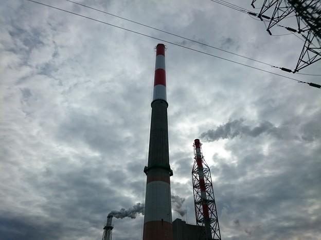 写真: 8月17日(金)の煙突