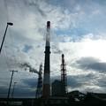 写真: 9月13日(木)の煙突