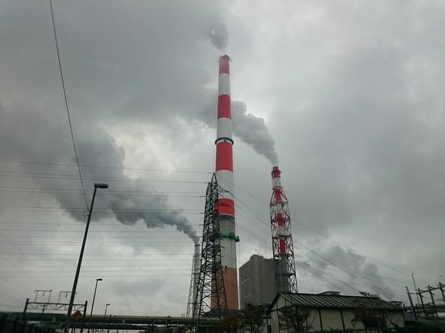 写真: 10月12日(金)の煙突