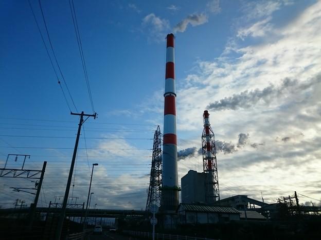 写真: 11月8日(木)の煙突