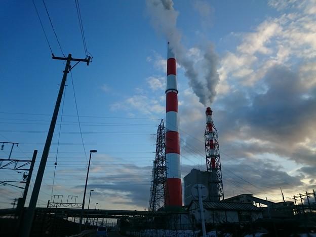11月22日(木)の煙突