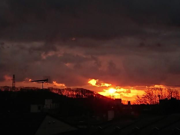 11月27日(火)の朝焼け