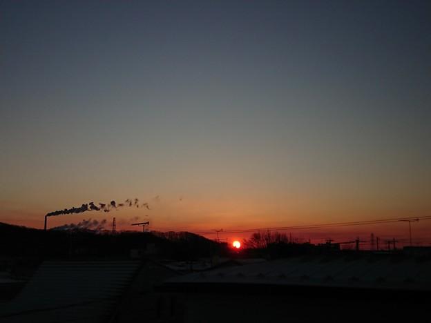 12月13日(木)の朝陽
