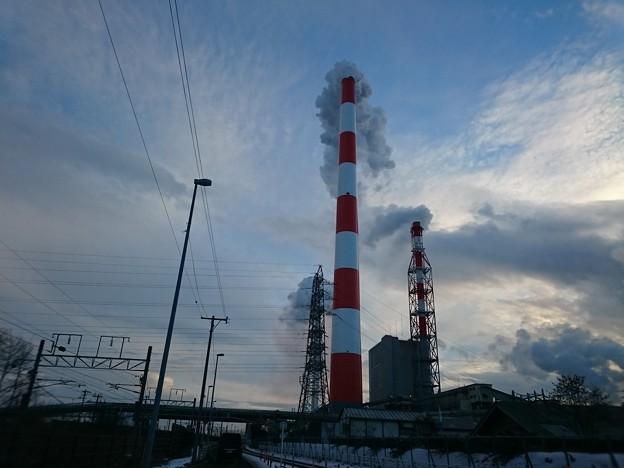 1月8日(火)の煙突