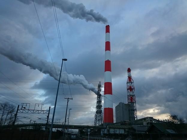 1月23日(水)の煙突