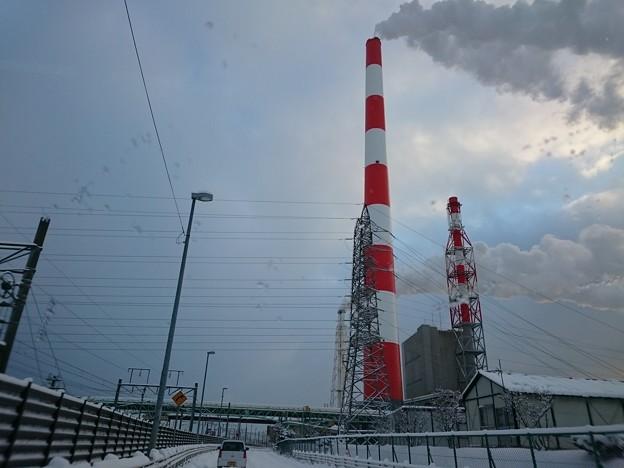 1月25日(金)の煙突