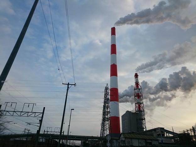 2月12日(火)の煙突