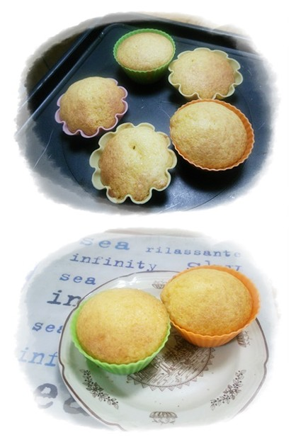Photos: マヨネーズカップケーキ
