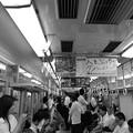 今夜の御堂筋線阪急電車能勢電車。大トロも阪急も遅れとる(°°)13