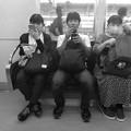 今夜の御堂筋線阪急電車能勢電車。15