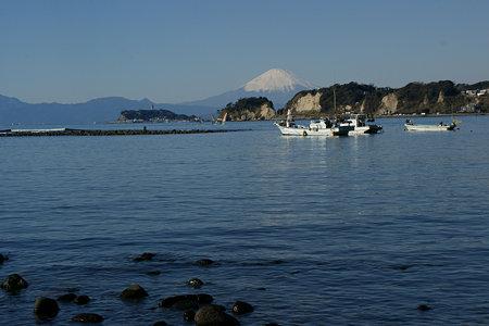 早朝の富士山2009a