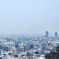 写真: 大倉山ジャンプからの展望