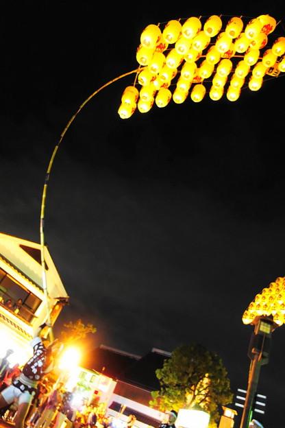 写真: 関東で竿灯