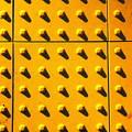 写真: 第139回モノコン  夕陽の点字ブロック