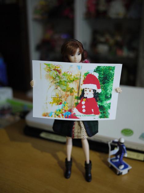 シマ子さんからのクリスマスカード