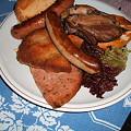 Photos: DSCF0676 ホロブロイハウスにて夕食(若者が食べていた)