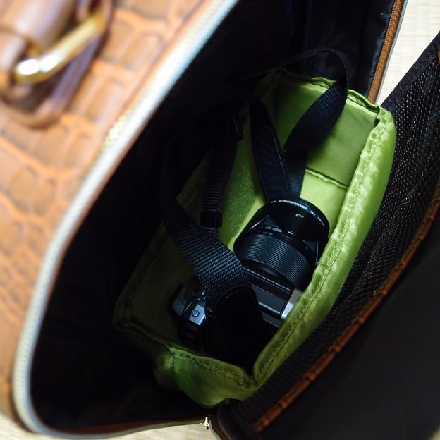 Photos: バックパックにぴったりだったカメラ用インナーバッグ