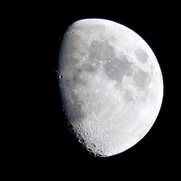 写真: 5月24日:月齢(8.6)