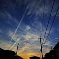 写真: 今日の夕景