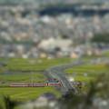 写真: 二上山展望台より