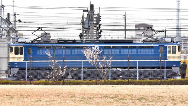 電気機関車と