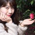 中島から菜の花畑へ