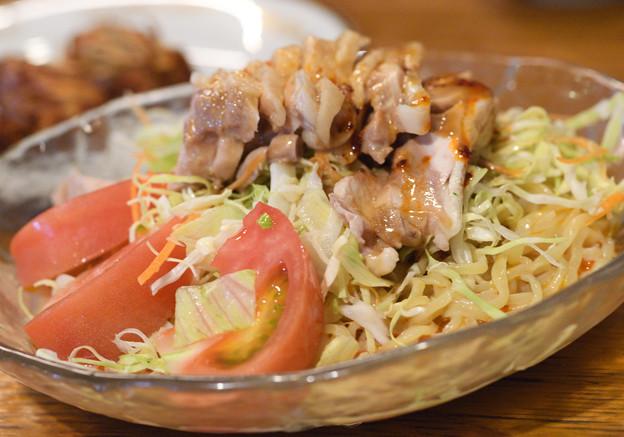 冷やし棒棒鶏麺