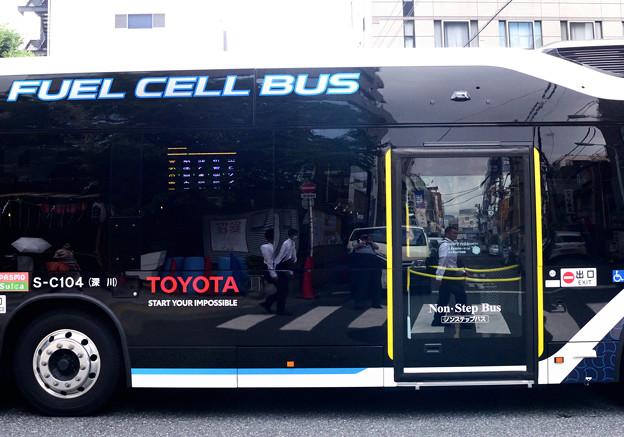 Photos: トヨタの都バス