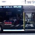 写真: トヨタの都バス
