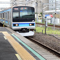 Photos: 黄色じゃなくて青い電車が