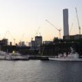 写真: 豊洲大橋から