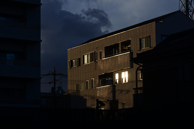 Photos: 台風近し