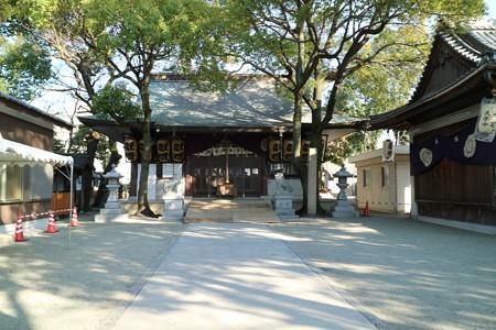 弓削神社 (2)
