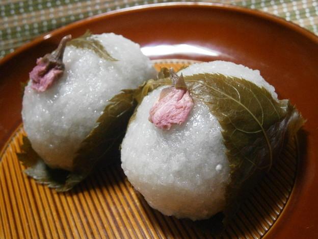 桜餅(道明寺)梅園