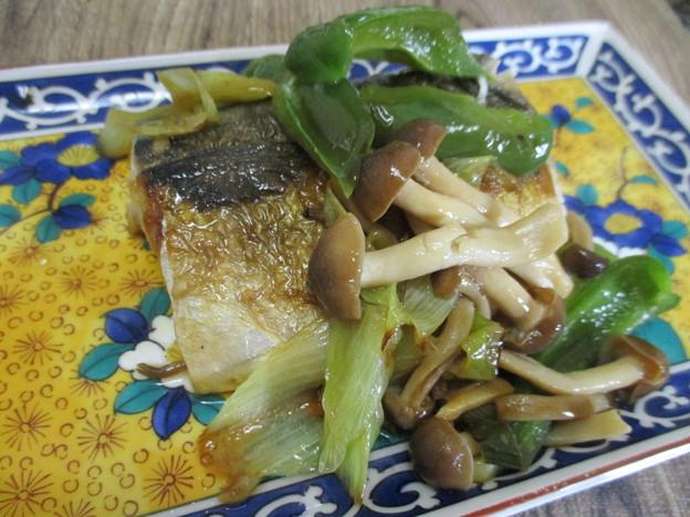 鯖のポン酢焼き
