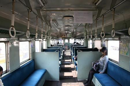 ひたちなか海浜鉄道・キハ22形の車内