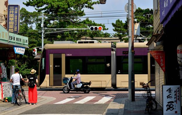Romen Densha Hankai Tramway-10 新型車両