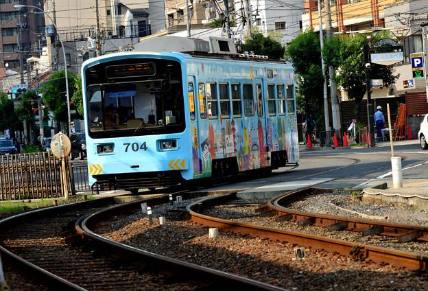 Romen Densha Hankai Tramway-23 松虫