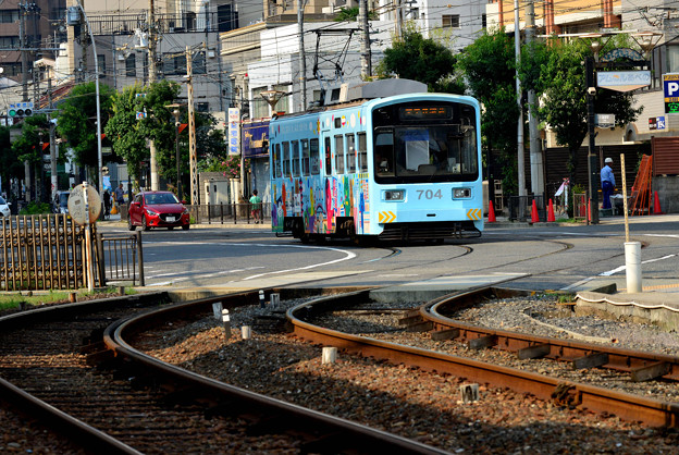 Romen Densha Hankai Tramway-24 松虫