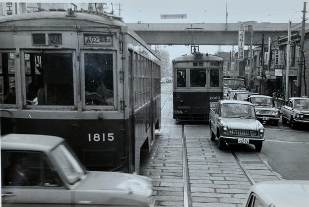 大阪市電 今里車庫-みなと車庫線(千日前線)
