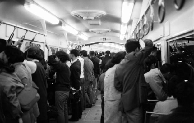 地下鉄車内 1970-#1