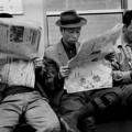 地下鉄車内 1970-#2
