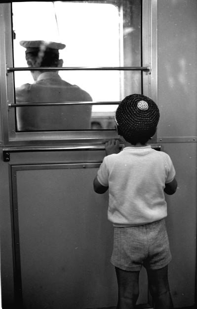地下鉄車内 1970-#3