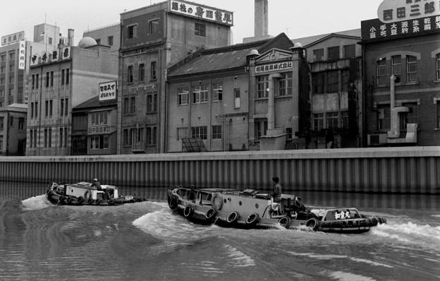 土佐堀川 1969年