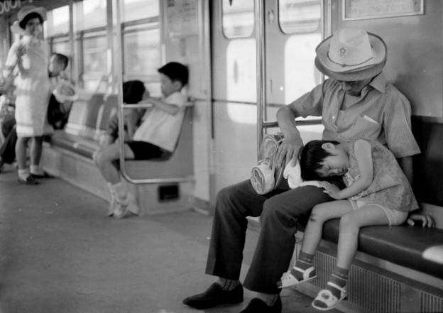 地下鉄車内 1970-#5
